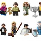 Luna Lovegood Professor Flitwick Minifigures Lego Compatible Harry Potter sets