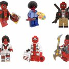 Super Heroes sets Compatible Lego Deadpool Minifigures