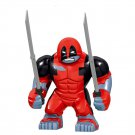 Big Deadpool Minifigures Lego Compatible Marvel Toy