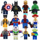 Toy Story Super Heroes Minifigures Lego Compatible movie sets
