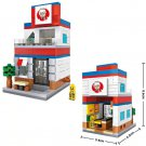 City Fried Chicken Store Building Toy Compatible Lego Convenience Store