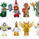 Gingerbread man Unicorn Rockey Boy Lego Minifigures series Compatible Toy