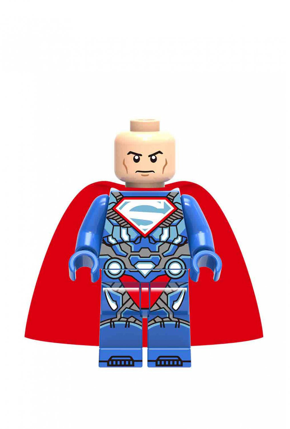 Luthor Superman Lego Minifigures Compatible Super Heroes Toy