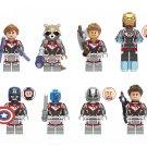 Heroes Hawkeye Ant-Man Nebula Quantum suit Minifigures Lego Compatible Avengers 2019