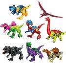 Brontosaurus Spinosaurus Carnotaurus building block Minifigures Lego Dinosaur sets Compatible
