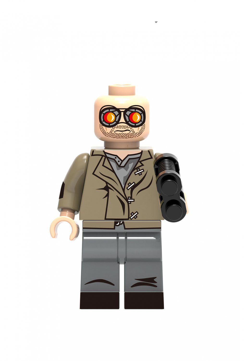 Heat Wave Super Heroes Lego Minifigures Compatible Toy