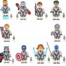 10pcs Avengers Endgame Minifigures Lego Compatible Avengers 2019
