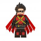 Red Robin Lego Minifigures Compatible Super Heroes Toy