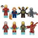 MK1 MK50 MK85 Iron Man Lego Minifigures Compatible Avengers Toy