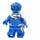Bule Superman Lego Minifigures Compatible Super Heroes Toy