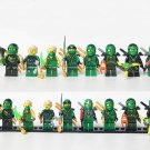 8pcs Lloyd Lego Minifigures Compatible Ninjago Toy