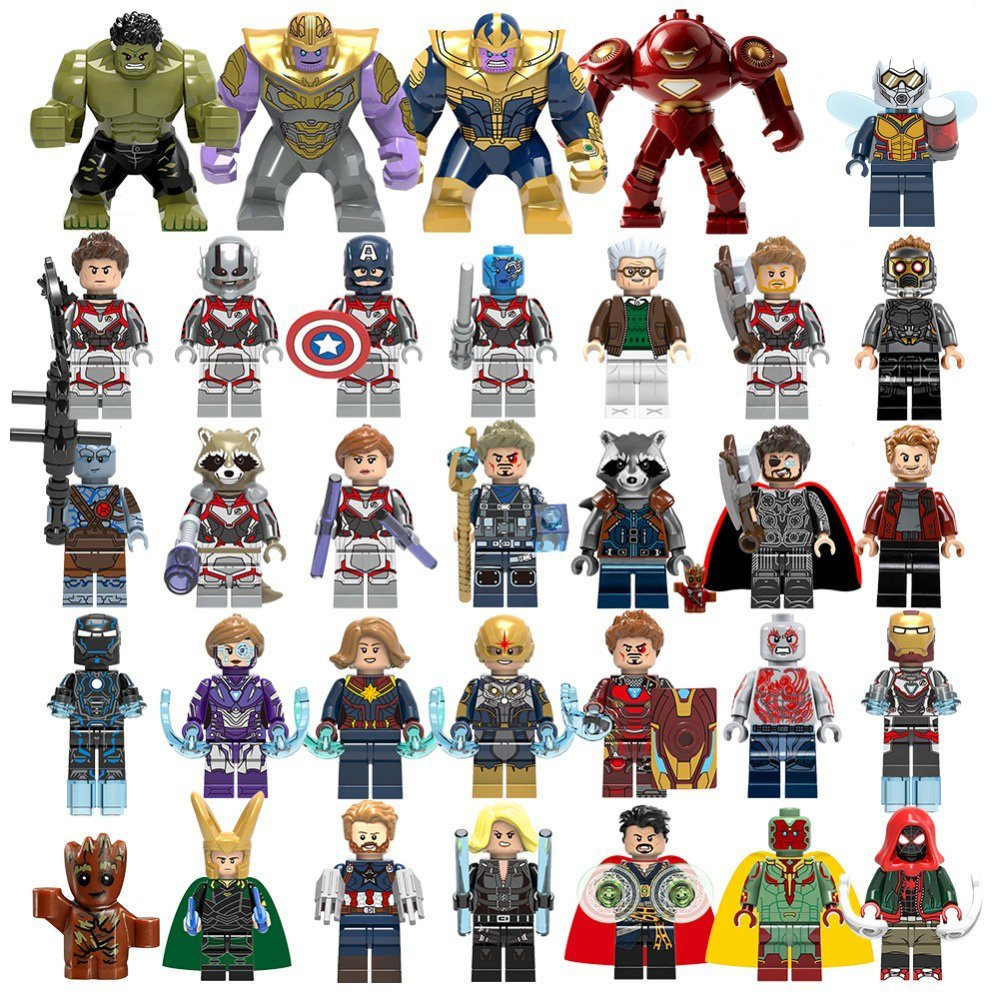 33pcs Avengers Endgame movie character Lego Minifigures Compatible Toy