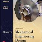 Shigley's Mechanical Engineering Design 10th Edition