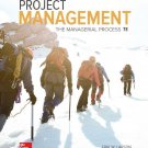 Project Management The Managerial Process 7th Edition