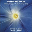 Communication Principles for a Lifetime 6th Edition