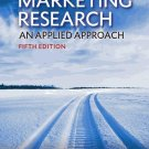 Marketing Research An Applied Approach 5th edition
