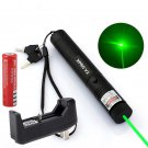 Military Powerful Green Laser Pen 5mw 532nm XPRO Cat Toy Laser Pen+ Battery+Charger