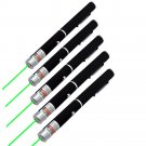 5PC 5mw 532nm Military Powerful Green Laser Pen Pet Toy Green Laser Pen