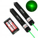 2PC Military Powerful Green Laser Pen 5mw 532nm XPRO Laser+2xBattery+1xCharger