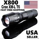 X800 Tactical Flashlight LED Military Lumens Alonefire ShadowHawk Set
