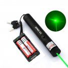 Military Powerful Green Laser Pen 5mw 532nm XPRO Laser+2xBattery+1xCharger