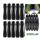 10Set X800 Tactical Flashlight LED Military Lumens Alonefire ShadowHawk Set