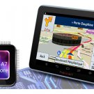 """Android Car GPS Navigation System 7"""" 16GB Quad Core WiFi Bluetooth Music Player"""