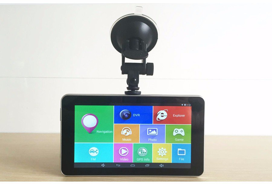 """Android Car 7"""" DVR + GPS Navigation System+Video Recorder 16GB WiFi FM Bluetooth"""