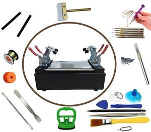 """7"""" LCD Touch Screen Separator Machine Tablet Cell Phone Monitor Repair Tool Kit"""