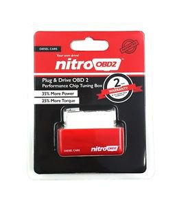 Nitro OBD2 Performance Chip Power Tuning Box ECU Remapping For Car Diesel Engine