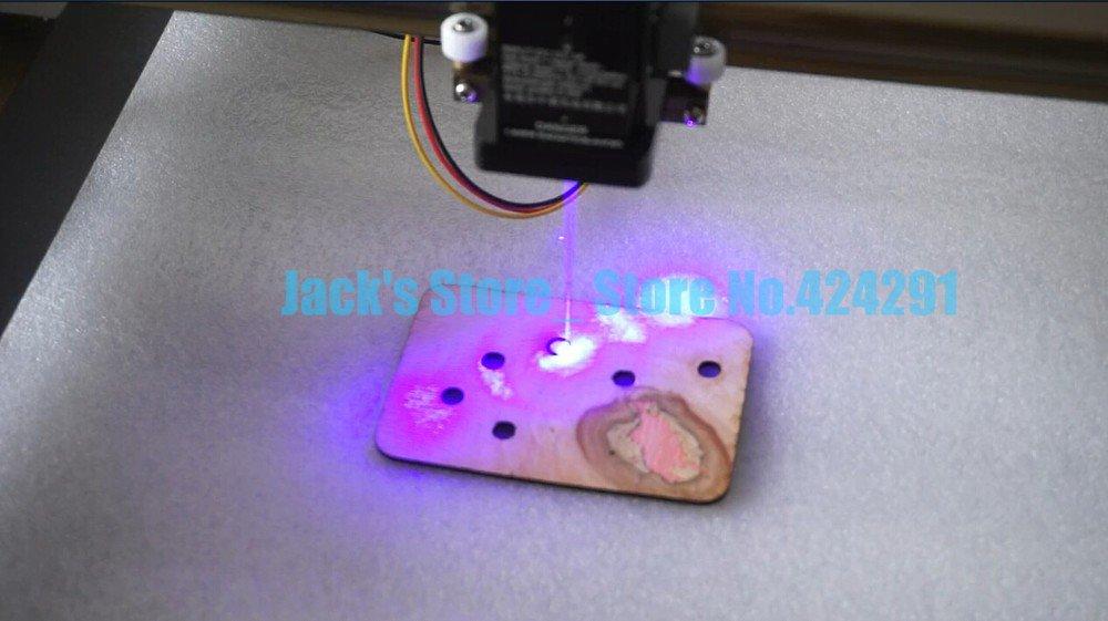 Mini 2.8W DIY Laser Engraver Wood Cutting Marking Engraving Machine USB 2800mw