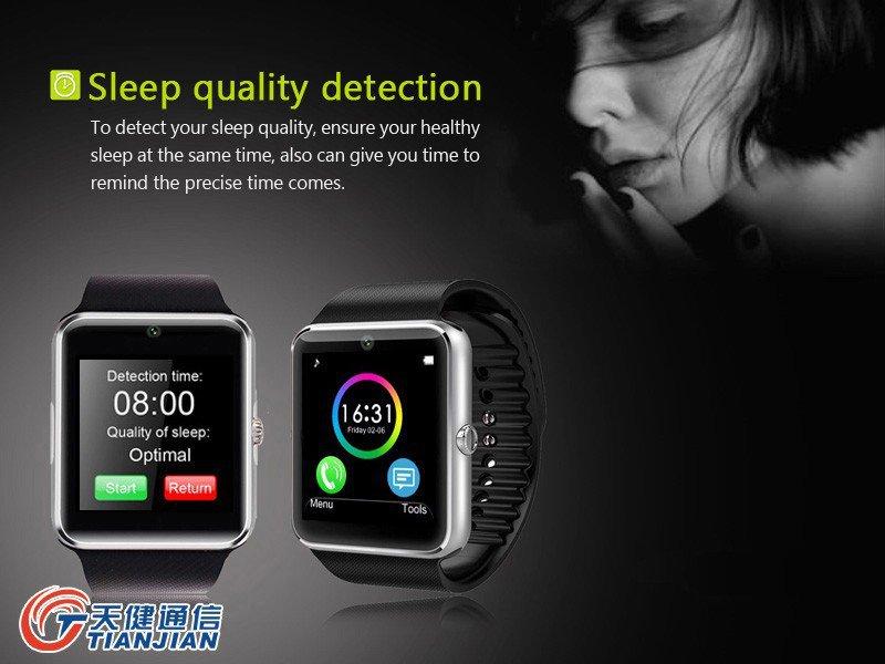 SmartClock Clock Mobile Cell Phone Wrist Smart Watch Smartwatch Wristwatch 2G