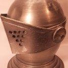 Vintage Ice Bucket Medieval Knight's Metal Armor Helmet