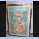 EDNA HIBEL FRAMED LITHOGRAPH LITTLE EMPEROR- Hand Signed And Numbered