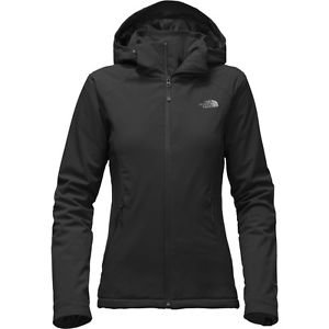 NEW North Face Apex Elevation Jacket Black PrimaLoft Hooded Insulated Womens XL