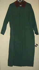 Vintage Timberland Weathergear Trench Rain Coat Waterproof Lined Womens Small
