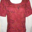 Kasper Long Dress Oriental Asian Side Slit Linen Fully Lined Sz 10