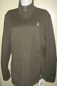 NEW Spyder Women's Endure Full Zip Mid Weight Core Sweater Jacket Black XL
