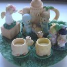 ENESCO PRECIOUS MOMENTS NATIVITY MINI TEA SET 1998  #384585A #20707