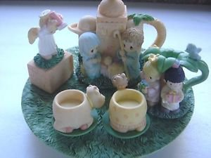 ENESCO PRECIOUS MOMENTS NATIVITY MINI TEA SET 1998  #384585A #20707