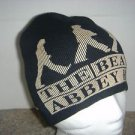 The Beatles ABBEY ROAD Knit Cotton Beanie Hat Cap Apple Corp 2007 Black Beige