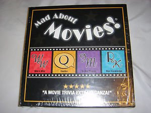 Mad About Movies Trivia Board Game NEW & SEALED