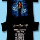 "SONATA ARCTICA - 2005 ""RECKONING NIGHT"" N.AMERICAN CONCERT TOUR T-SHIRT /  LARGE"