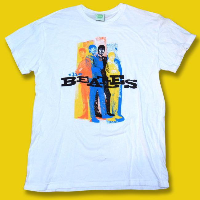 THE BEATLES - APPLE CORPS. INC OFFICIAL BEATLES GRAPHIC T-SHIRT *NEW* / SZ. M