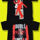 MICHAEL BUBLE - 2010 CRAZY LOVE TOUR, LIVE AND IN PERSON CONCERT T-SHIRT / SZ. M