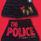 "THE POLICE - ""OUTLANDOS D'AMOUR"" BOXER SHORTS, UNDERWEAR, PAJAMA, PJ *NEW* / L"