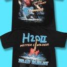 """BRAD PAISLEY - 2011 """"H20II WETTER & WILDER"""" CONCERT TOUR T-SHIRT / SZ. M"""