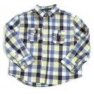 New Ruum Yellow/Black/Red Plaid Infant Boy Long Sleeve Shirt, 6-9M