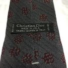 Vintage Christian Dior All Silk Tie  Made in the USA