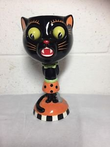 Department 56 Halloween Cat Goblet NEW